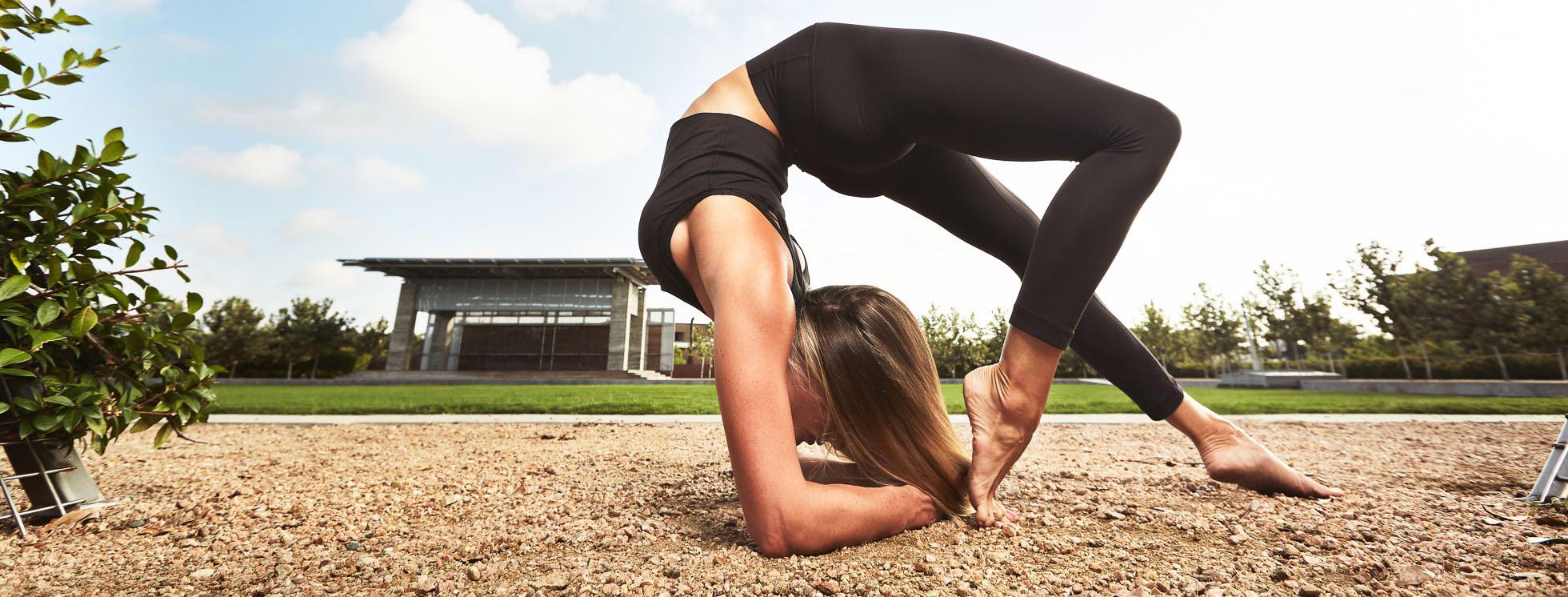 Behind the Scenes: Yoga Photoshoot for Lululemon